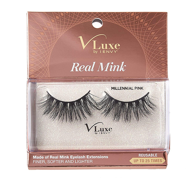 V-Luxe Real Mink x KISS