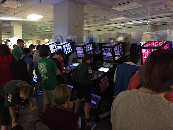 Gaming room at DragonCon