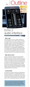 2013-11 interface test Echo Audio Echo2