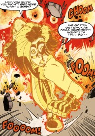 Kid Flash II Bart Allen Impulse Flash 4