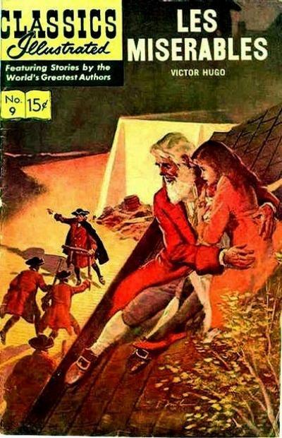 Classics Illustrated Les Miserables Comic Book Review