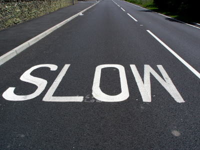 Image result for slow down driving