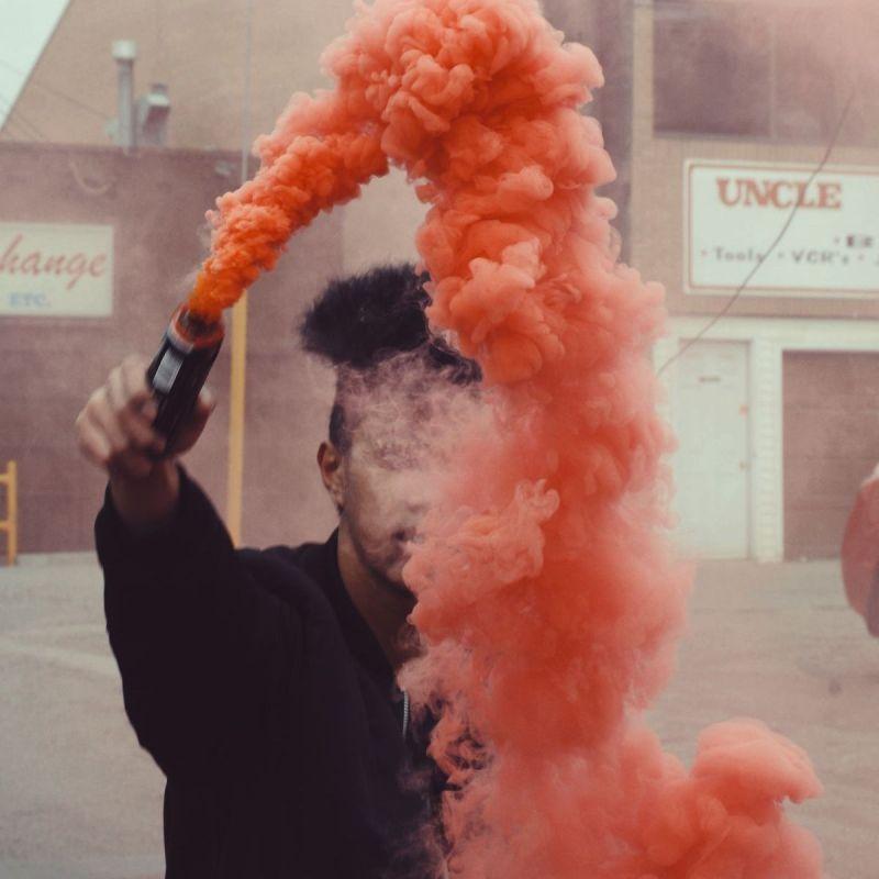Red Smoke Bomb