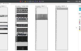 DCIM Multi-Rack View