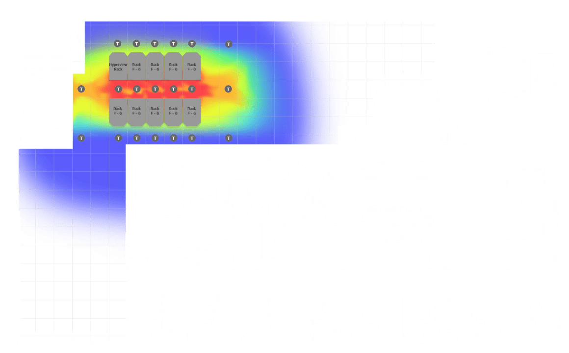 DCIM datacenter heat map
