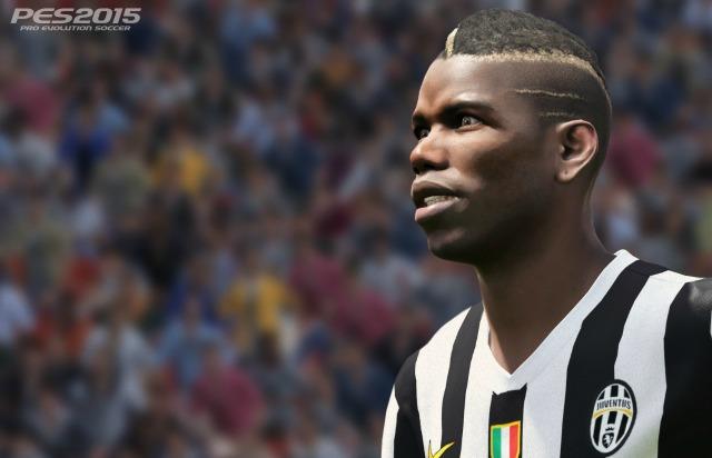PES 2015 Juventus Turin Paul Pogba