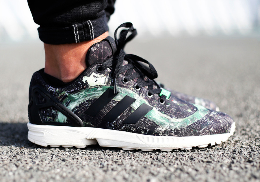 "Adidas Originals ZX Flux ""London"""