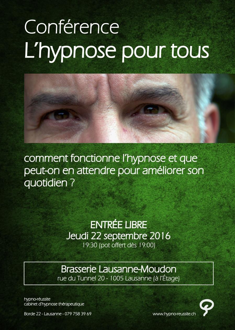 Tout ce que l'hypnose peut faire pour vous… conférence