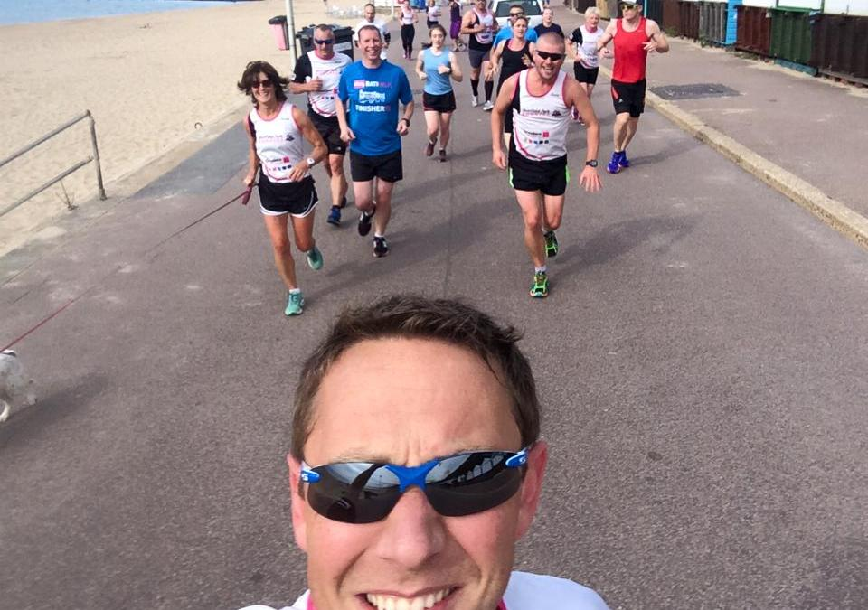 Hypnosis For Running Weekly Mileage Log – And A Club Session On The Beach