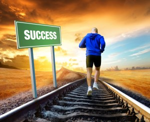 running for success