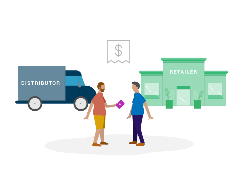 Distributor paying with Hypur