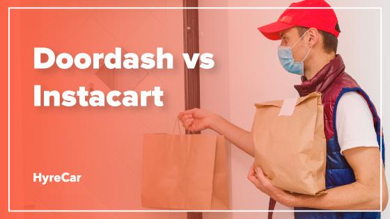 Doordash vs Instacart comparison