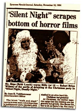Image result for silent night deadly night controversy