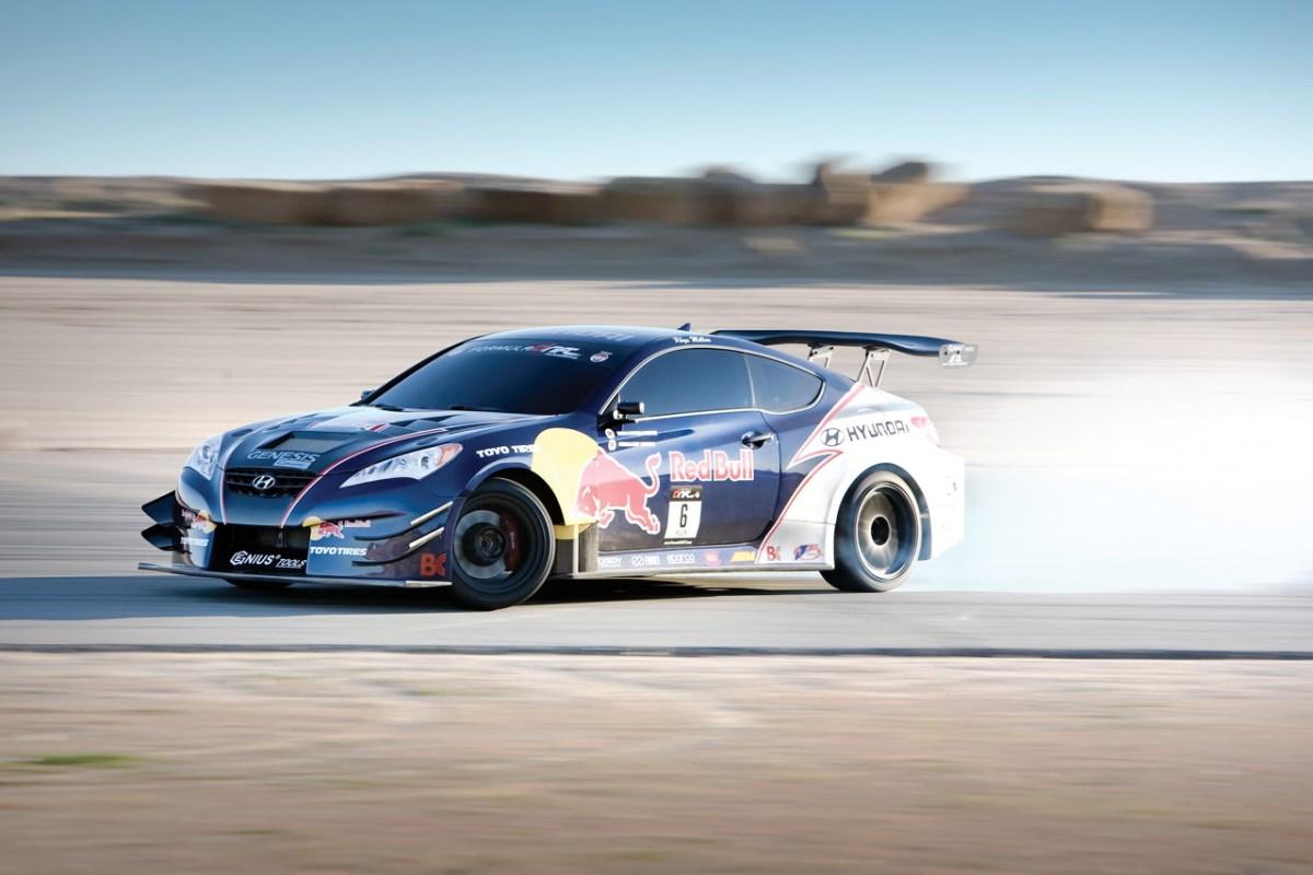 Rhys Millen Hyundai Genesis Coupe drift car