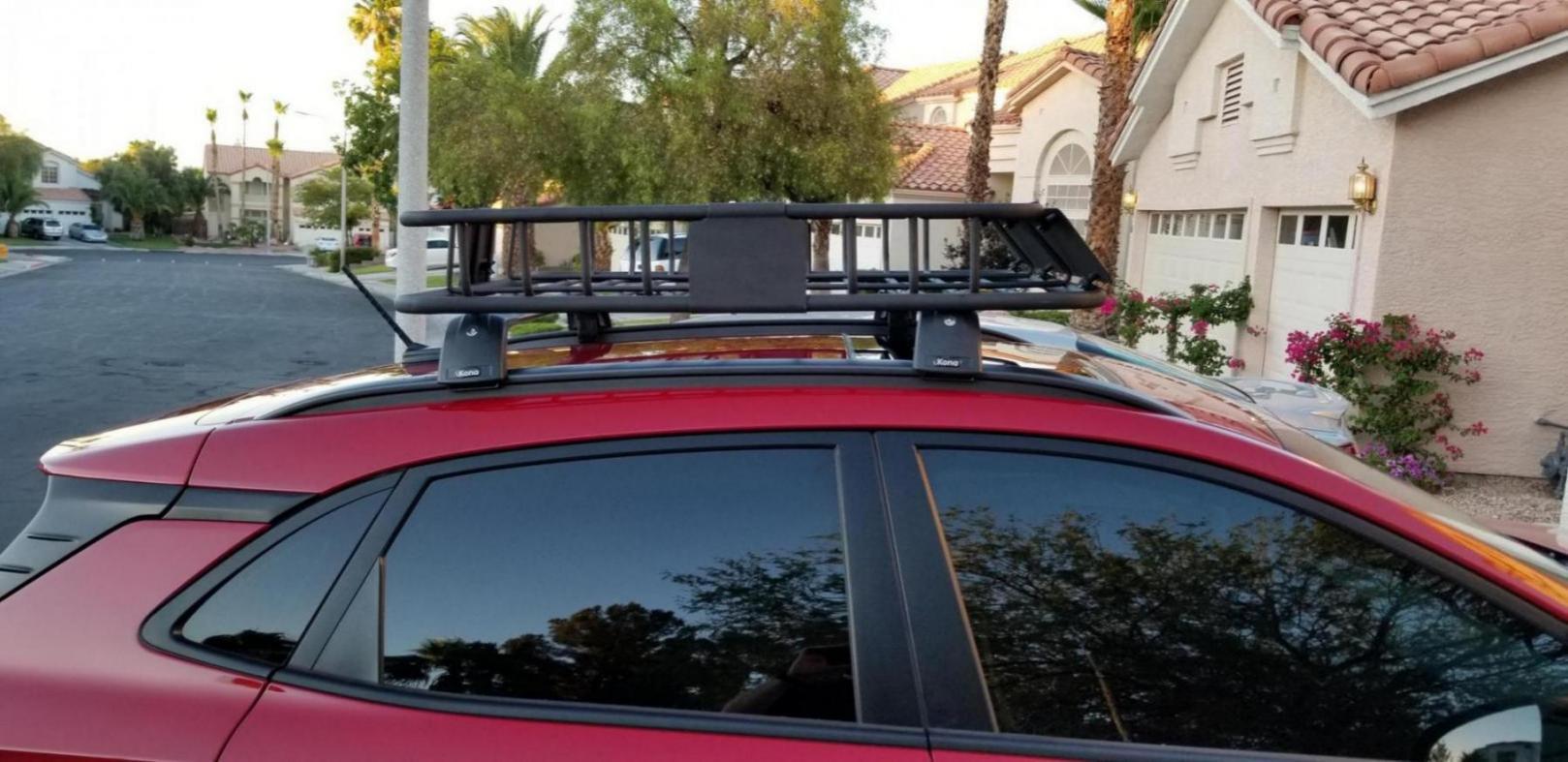 roof racks hyundai kona forum