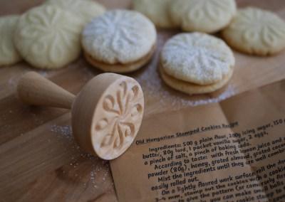 Unkarilaiset leimatut keksit