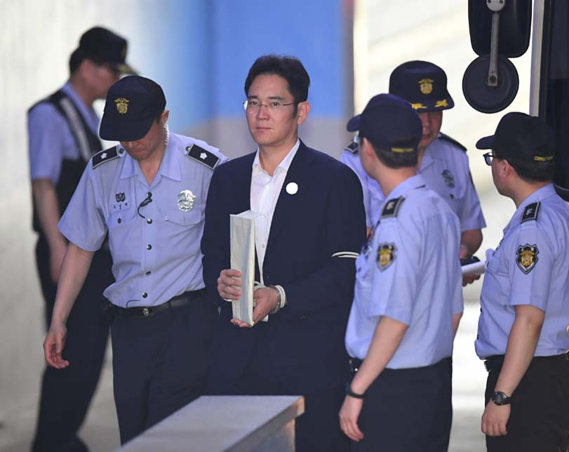 Convicted Samsung heir appeals