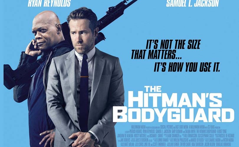 """The Hitman's Bodyguard"" takes number one spot in cinemas"