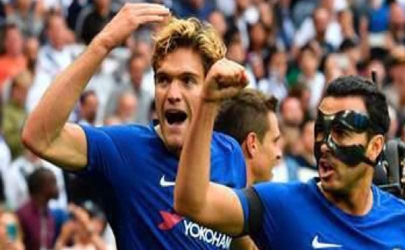 Alonso shines as Chelsea downs Tottenham at Wembley