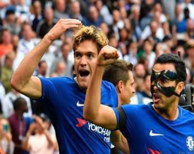 Alonso shines as Chelsea downs Tottenham at Wembley