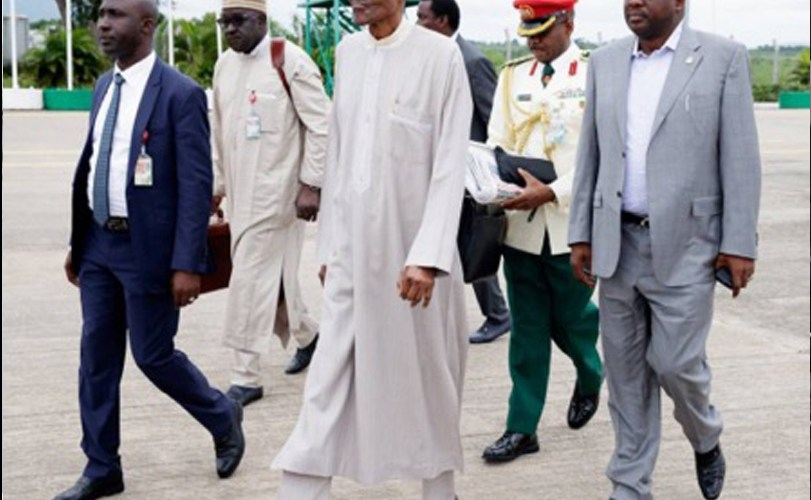 Buhari Departs for New York for 72nd Session of UN General Assembly