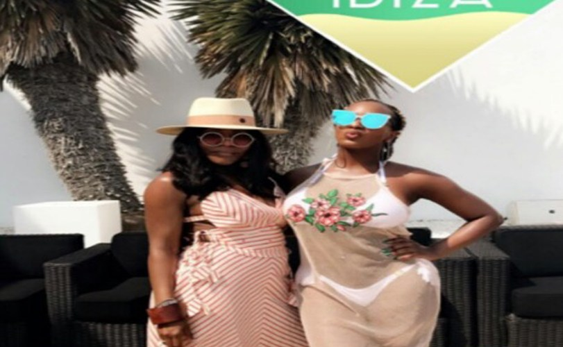 Billionaire Daughter, Dj Cuppy share Hot photos from her vacation in Ibiza