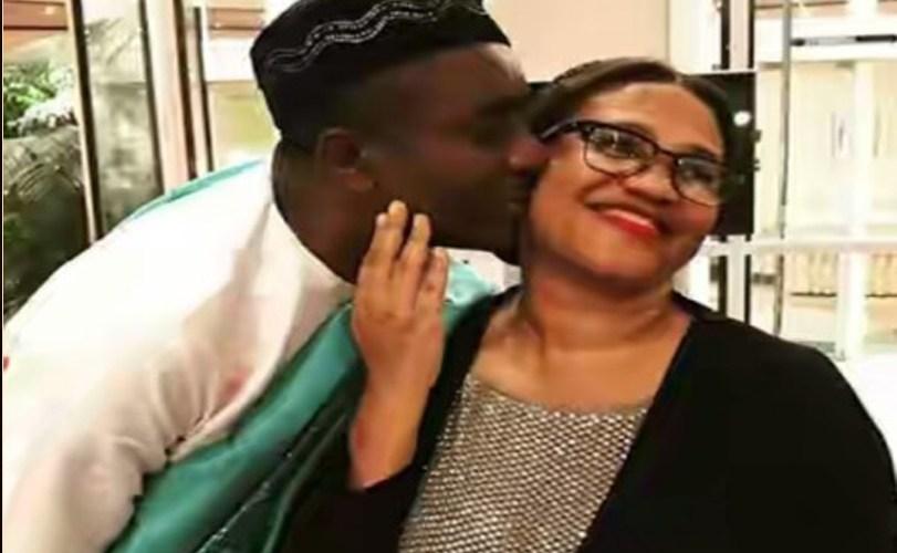 Nollywood Actor Emeka Ike expresses love for Nadia Buari's mum