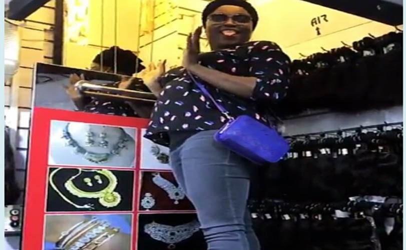 Nollywood Actress Funke Akindele flaunts baby bump