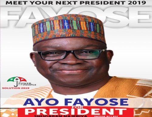 Governor Fayose Ayodele