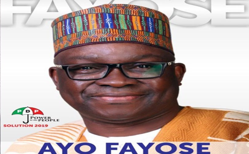 Governor Fayose declares 2019 Presidential bid