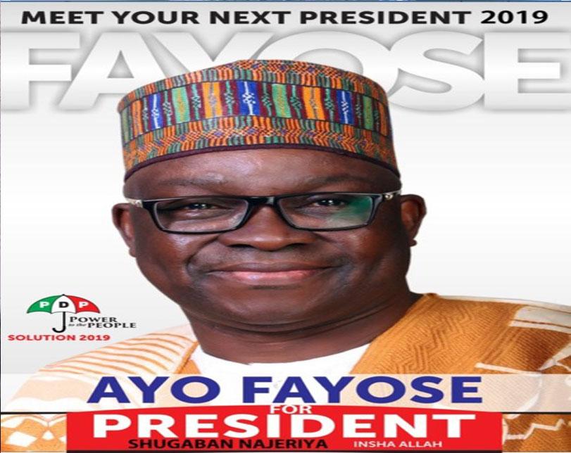 Governor Fayose declares 2019 Presidential bid