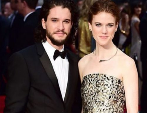 Game of Thrones Harrington 'Jon Snow' and Rose Leslie 'Ygritte'