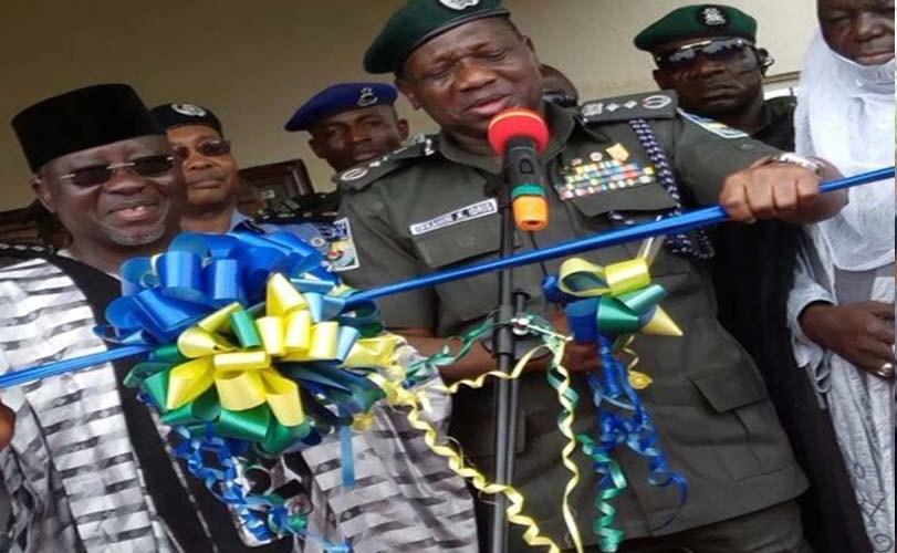 IGP inaugurates new police command headquarters in Lafia.