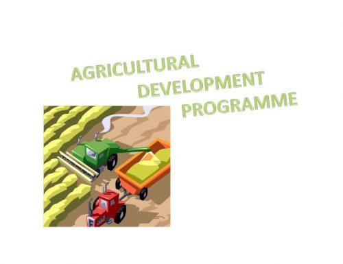 agricultural development programme
