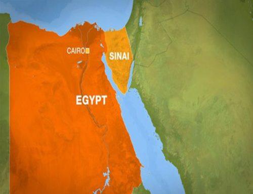 hits Egypt 's Sinai