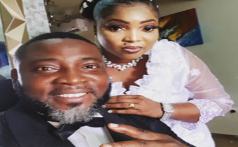 Photos: Popular Music Producer, Puffy Tee weds Gospel Singer, Busola Oke