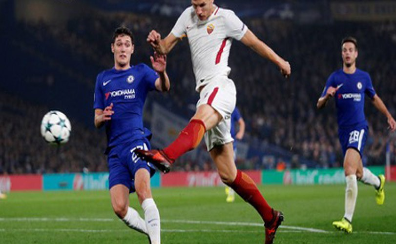 UEFA Champions League: Roma holds Chelsea to a draw in 6-goal thriller