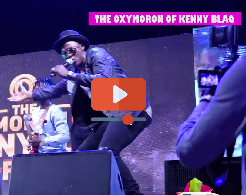 The Oxymoron of Kenny Blaq at Eko Hotel and Suites in Lagos State