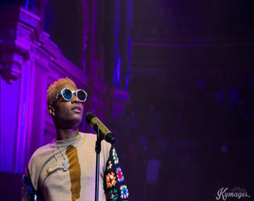Wizkid becomes first African to sell out Royal Albert Hall in London