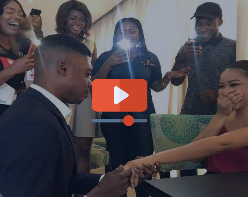 Comedian Ebiye faces challenges while trying to Propose to his girlfriend