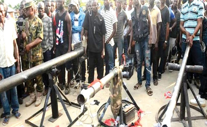 Kidnappers of Epe pupils surrender arms