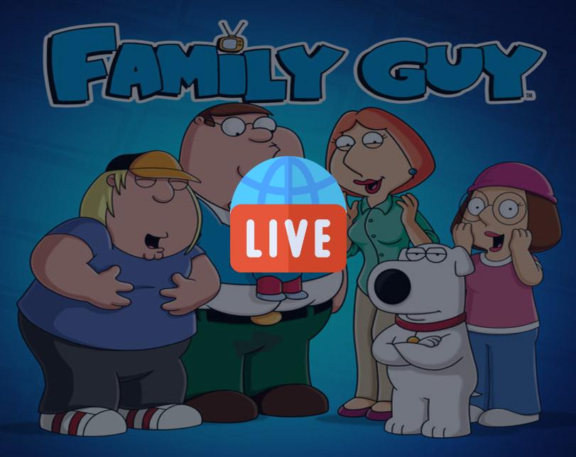 Cartoon: Family Guy – Live 24/7