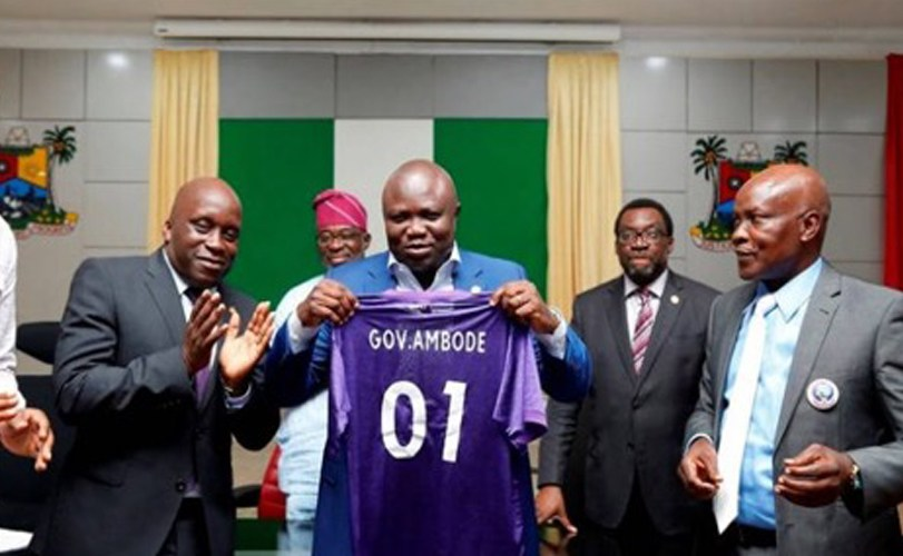 Ambode donates N50m to Mountain of Fire Football Club (MFM FC)