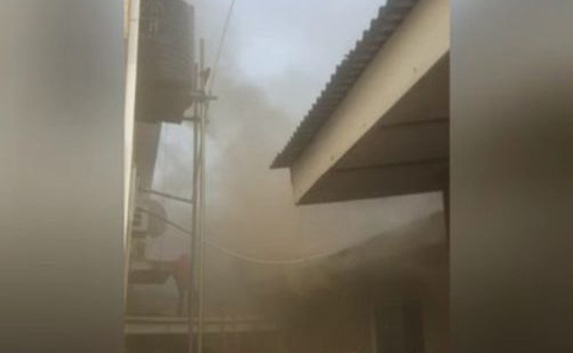 Hip TV Lagos Studio Gutted By Fire