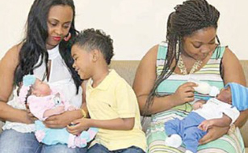 How shameful! Mother & daughter give birth to babies for the same man in the same month
