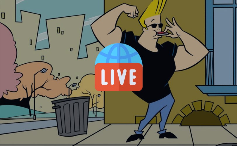 Cartoon: Johnny Bravo – Live 24/7