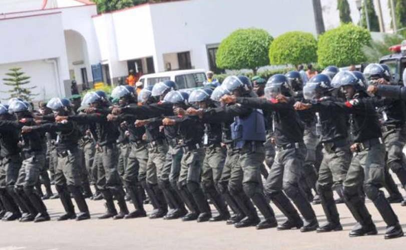 Nigerian Policemen receive training on incidents management