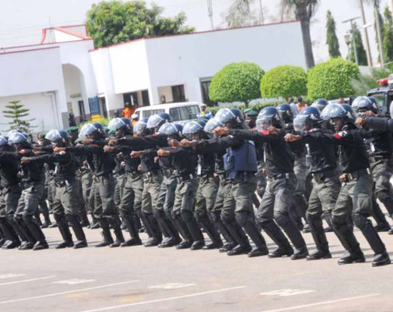 Nigerian Policemen receive training on incidents management