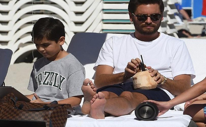 See these beautiful photos of Scott Disick and his son Mason