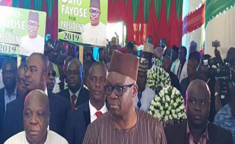 Governor Fayose provides Christmas dress for 10,000 Ekiti children